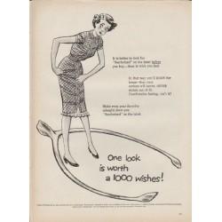 """1952 Sanforized Ad """"1000 wishes"""""""