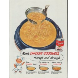 "1954 Campbell's Soup Ad ""Chicken Goodness"""