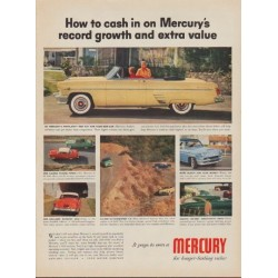 "1954 Ford Mercury Ad ""How to cash in"""