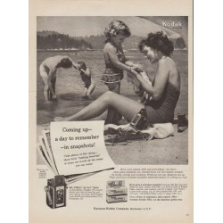 "1954 Kodak Film Ad ""a day to remember"""