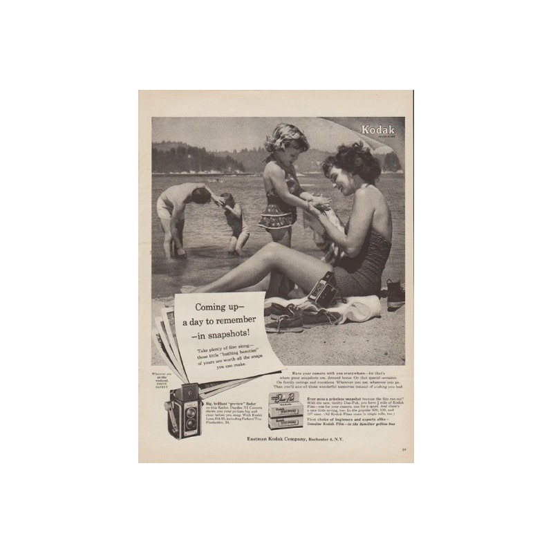 1954 kodak film vintage ad a day to remember