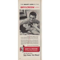 "1954 Brylcreem Ad ""The Smart Look"""
