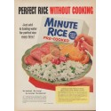 """1954 Minute Rice Ad """"Perfect Rice"""""""