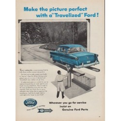 "1954 Ford Parts Ad ""Make the picture perfect"""