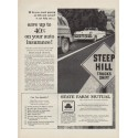 "1954 State Farm Insurance Ad ""Steep Hill"""