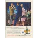 """1954 Ballantine Ale Ad """"I had no idea"""""""