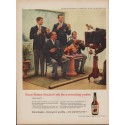 "1960 Four Roses Whiskey Ad ""Recruiting Poster"""
