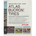 """1961 Atlas Tires Ad """"When the choice is yours"""""""
