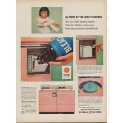 "1960 General Electric Ad ""Filter-Flo Washer"""