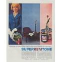 "1961 Super Kem-Tone Ad ""The suit is new"""