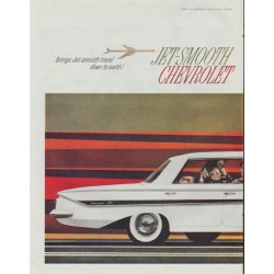 "1961 Chevrolet Ad ""Jet-Smooth"""