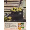 "1960 Kraft Apple Jelly Ad ""Color and Sweetness"""