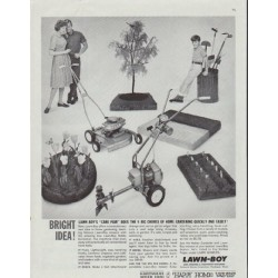 "1961 Lawn-Boy Ad ""Bright Idea"""