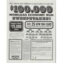 "1961 Mobilgas Ad ""Sweepstakes"""