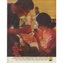 "1961 Pepsi-Cola Ad ""now it's Pepsi"""