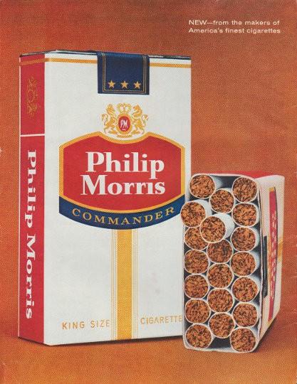 1961 Philip Morris Cigarettes Vintage Ad Quot Tasty Newcomer Quot