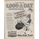 "1961 Star-Kist Tuna Ad ""Sweepstakes"""