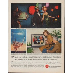 "1961 RCA Television Ad ""RCA takes the picture"""