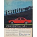 """1961 Buick Ad """"savings whiz with a wallop"""""""