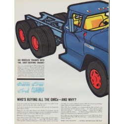 "1961 GMC Trucks Ad ""Who's Buying All The GMCs"""