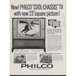 "1960 Philco Television Ad ""Cool-Chassis TV"""