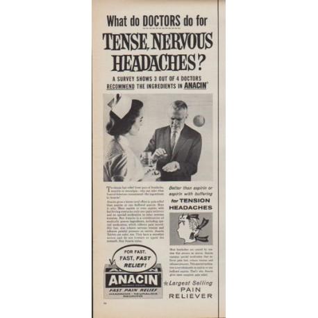 1961 Anacin Ad
