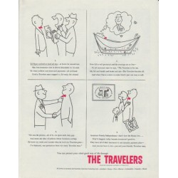 "1958 The Travelers Insurance Ad ""Ed Ryan"""