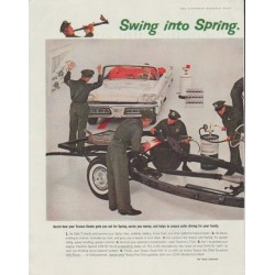 "1958 Texaco Ad ""Swing into Spring"""
