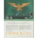 "1958 Chrysler Imperial Ad ""America's most distinctive"""