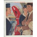 """1958 American Airlines Ad """"remember my name"""""""