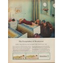"1960 Simmons Beautyrest Mattress Ad ""Temptation"""