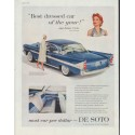 "1958 De Soto Ad ""Best dressed car"""