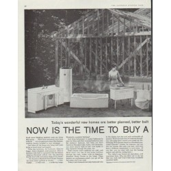"1958 American-Standard Ad ""Now is the time"""
