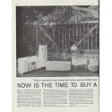 """1958 American-Standard Ad """"Now is the time"""""""