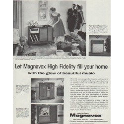 "1958 Magnavox Ad ""High Fidelity"""