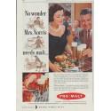 """1958 Fro-Malt Ad """"No wonder"""""""