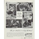 """1958 The Home Insurance Company Ad """"this kind of homeowner"""""""
