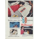 """1958 Rubbermaid Ad """"flatter your car"""""""