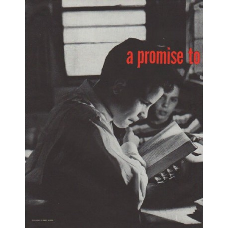 "1958 Smith-Corona Ad ""a promise"""