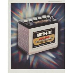 """1958 Auto-Lite Ad """"Announcing"""""""