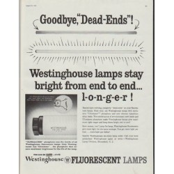 "1958 Westinghouse Ad ""Goodbye, ""Dead-Ends""!"""
