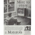 "1958 Motorola Television Ad ""More to enjoy"""
