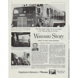 "1958 Employers Mutuals of Wausau Ad ""Wausau Story"""