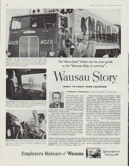 Toys For Trucks Wausau Wi : Employers mutuals of wausau vintage ad quot story