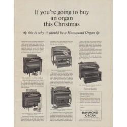 1963 Hammond Organ Ad &quo