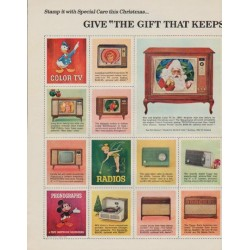 "1963 RCA Victor Ad ""The Gift That Keeps On Giving"""