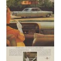 """1964 Cadillac Ad """"It's easy to be a weatherman"""""""