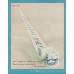 "1963 ScotTissue Ad ""Great Scott!"""
