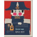 "1963 Kings Men After Shave Ad ""Napoleon"""