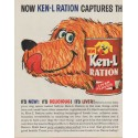"1963 Ken-L Ration Dog Food Ad ""Choicest Taste"""